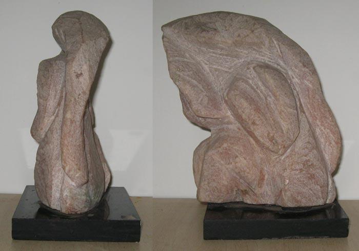 DA05  Ganesha 5  Marble  8 x 5 x 4 inches  Available