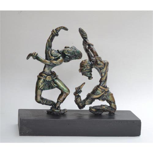 A.Selvaraj  Dancer  Bronze  12 x 4 x 10 inches  Unavailable (Can be commissioned)