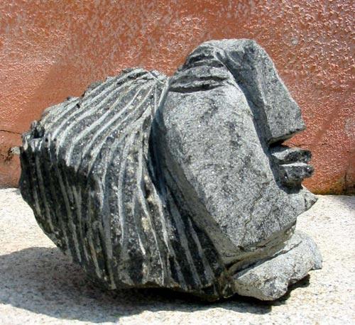 DA08  Woman 1  Granite   9 x 9 x 7 inches  Available