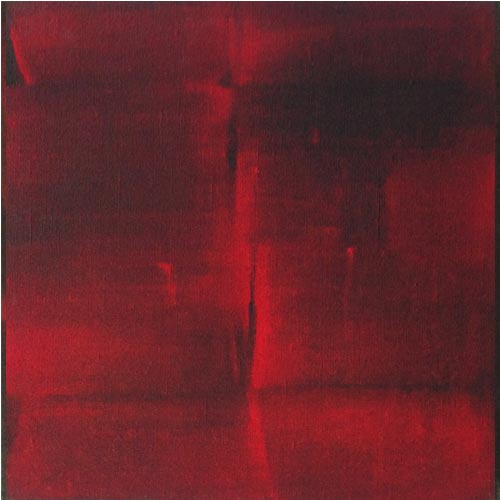 V.Viswanathan  Untitled - III	 Casein on canvas  12 x 12 inches  Unavailable (Can be commissioned)